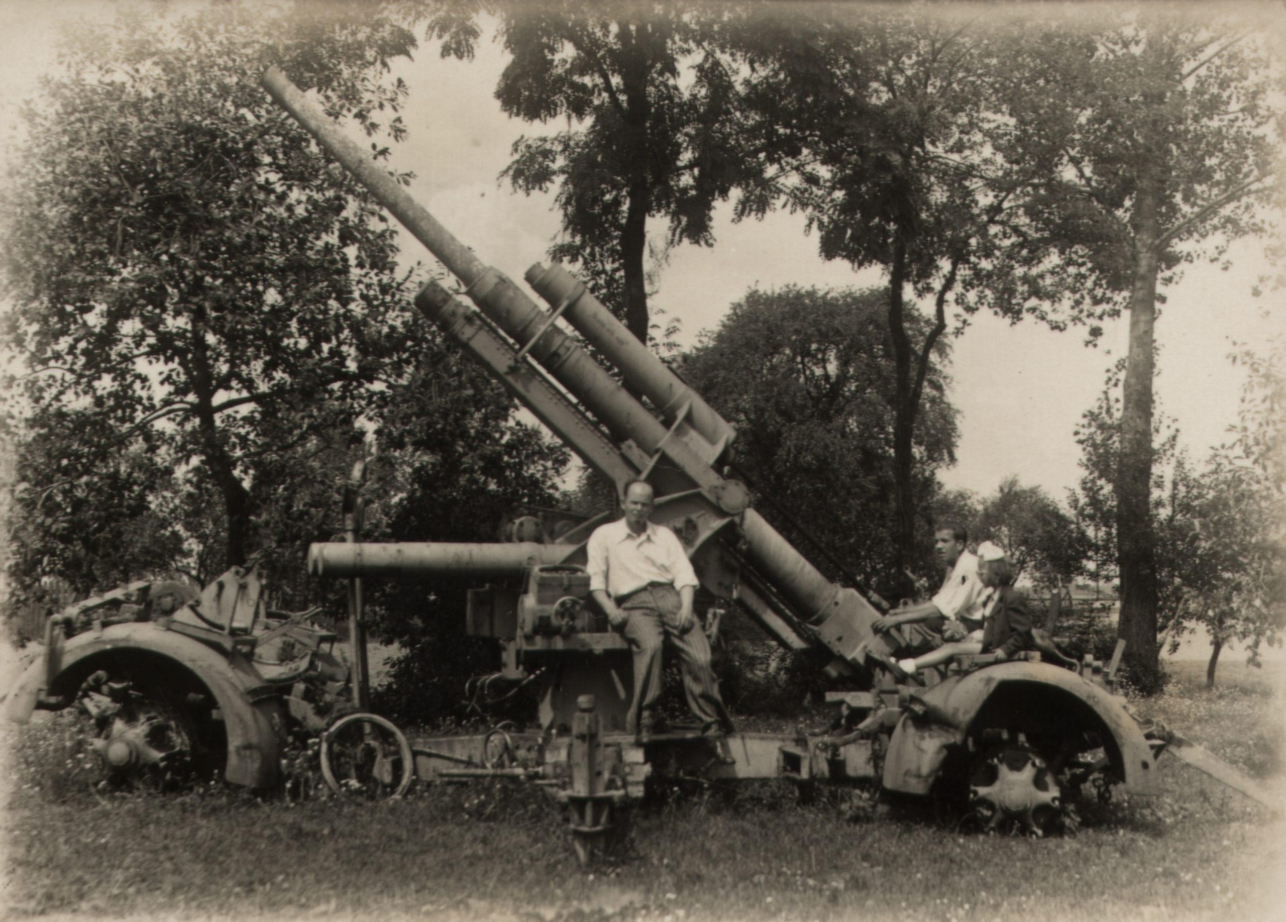 niemiecka armata przeciwlotnicza flack 88mm