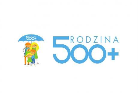 Logo programu 500+.